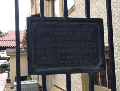 Saint Joseph Church Historic Place image. Click for full size.