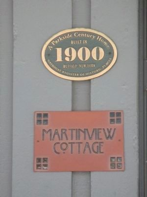 Martinview Cottage Plaques image. Click for full size.