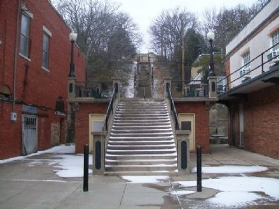 Stairway Adjacent South of Vernon Whiting Apartments image. Click for full size.