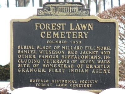 Forest Lawn Cemetery Marker image. Click for full size.