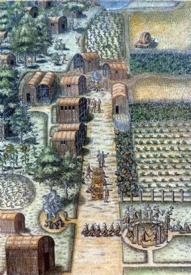Woodland Period Village image. Click for full size.