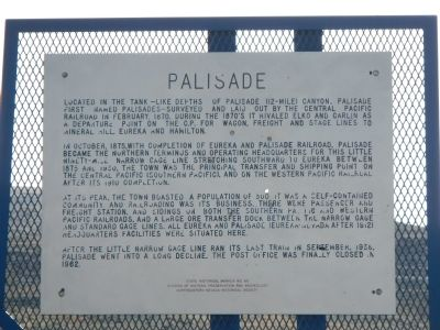 Palisade Marker image. Click for full size.