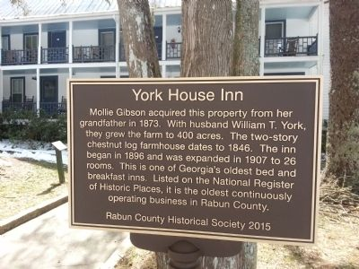 York House Inn Marker image. Click for full size.