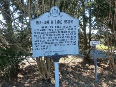Milestone in Radio History Marker image. Click for full size.