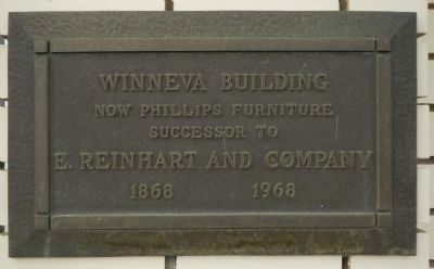 Winneva Building Marker image. Click for full size.