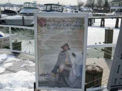 Waterfront Walk-George Washington Birthday Celebration poster image. Click for full size.