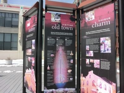 Waterfront Wal-Visiting old town and unique charm panels image. Click for full size.