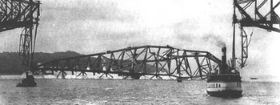 The Québec Bridge Disaster image. Click for full size.