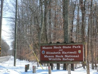 Sign at the entrance to the Park image. Click for full size.