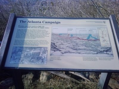 The Atlanta Campaign Marker image. Click for full size.