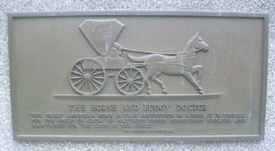 The Horse and Buggy Doctor Marker image. Click for full size.