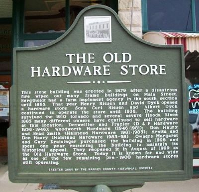 The Old Hardware Store Marker image. Click for full size.