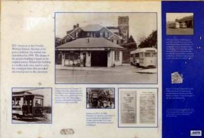 Overlea Waiting Station Marker<br>Panel 2 image. Click for full size.