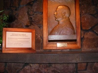 Schofield Barracks is named for Major General John M. Schofield-In the Museum image. Click for full size.