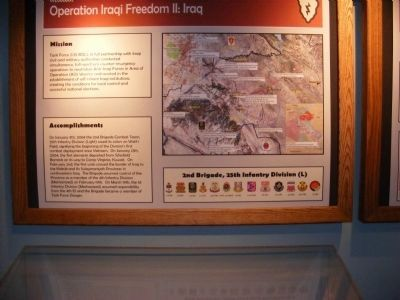 In the Museum-Operation Iraqi Freedom II: Iraq image. Click for full size.