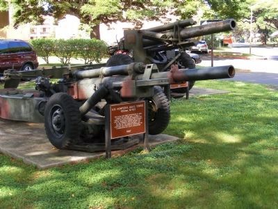 U.S. Howitzer, Light, Towed 105MM, M-102 image. Click for full size.