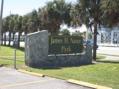 James Nance Park Sign image. Click for full size.