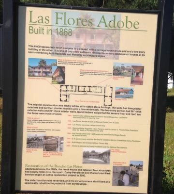 Las Flores Adobe Marker image. Click for full size.