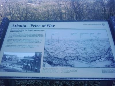 Atlanta - Prize of War Marker image. Click for full size.