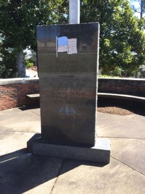 Conecuh County War Memorial image. Click for full size.