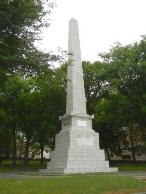 Wolfe and Montcalm Monument image. Click for full size.