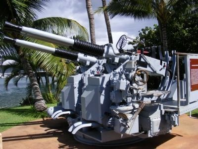 40 MM Quad Gun Assembly image. Click for full size.