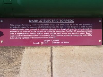 Mark 37 Electric Torpedo Marker image. Click for full size.