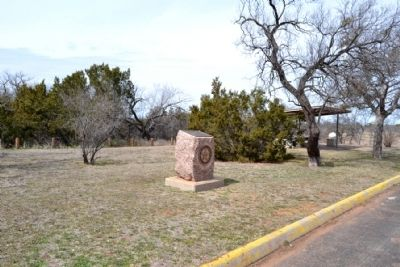 Foard County Marker in Highway Picnic Rest Area image. Click for full size.