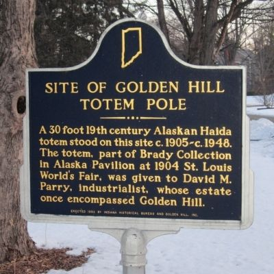 Site of Golden Hill Totem Pole Marker image. Click for full size.