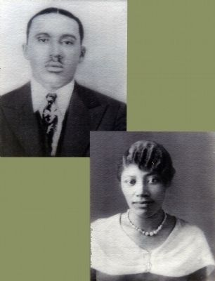 Louis Jasper Logan and His Wife Ruth Logan image. Click for full size.