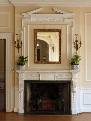 Fireplace in the Main Hall image. Click for full size.