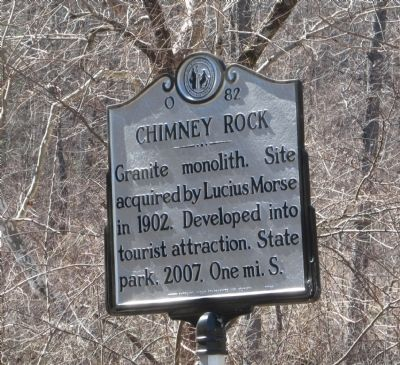 Chimney Rock Marker image. Click for full size.