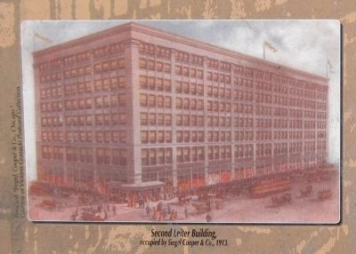 Second Leiter Building image. Click for full size.