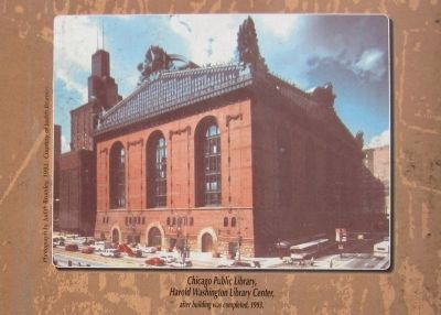 Chicago Public Library, Harold Washington Library Center image. Click for full size.
