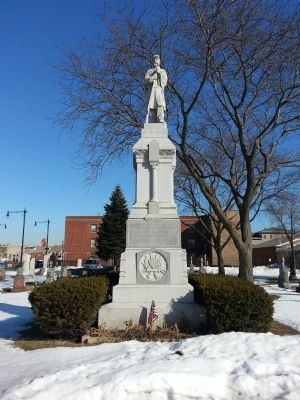 Saint Boniface Union Soldiers Monument image. Click for full size.
