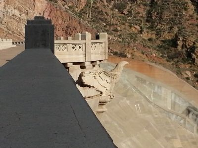 A Coolidge Dam Eagle image. Click for full size.