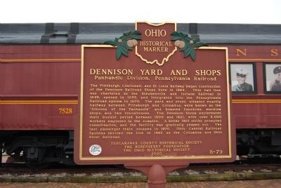Dennison Yard and Shops Marker image. Click for full size.