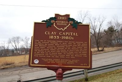 Clay Capital 1833-1980s Marker image. Click for full size.
