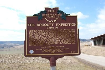The Bouquet Expedition - Camp 14 Marker image. Click for full size.