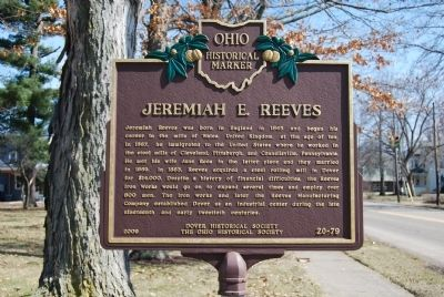 Jeremiah E. Reeves Marker image. Click for full size.