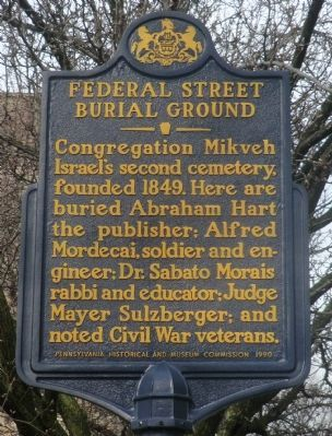 Federal Street Burial Ground Marker image. Click for full size.