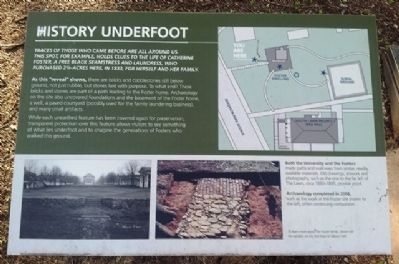 History Underfoot Marker image. Click for full size.