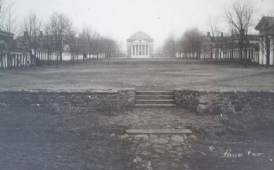 Photo of The Lawn on History Underfoot Marker image. Click for full size.