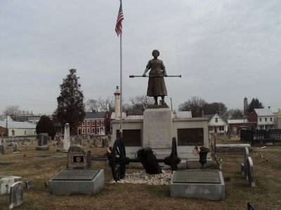 Molly Pitcher Monument image. Click for full size.