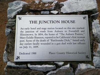 The Junction House Marker image. Click for full size.