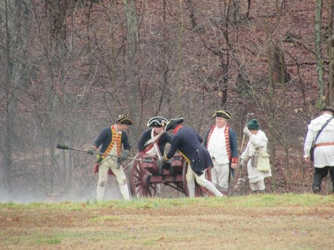 American Artillery at the Battle of Guilford Courthouse image. Click for full size.