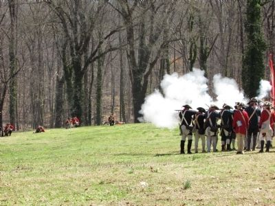 Battle of Guilford Courthouse image. Click for full size.