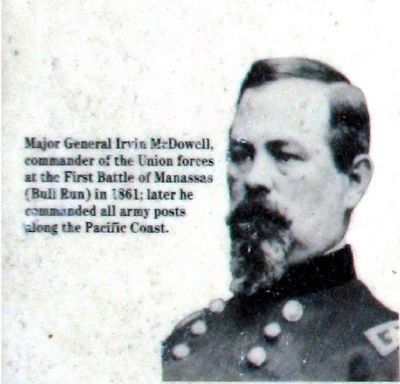 Major General Irvin McDowell<br> Some notable Americans buried here image. Click for more information.