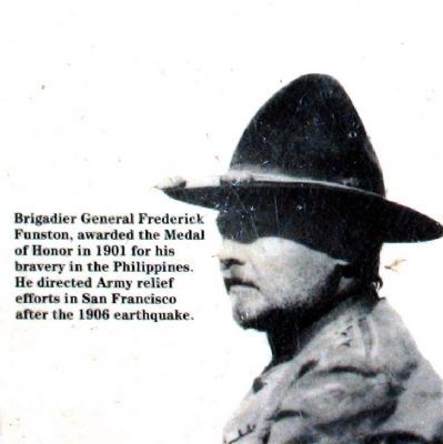 Brigadier General Frederick Funston<br> Some notable Americans buried here image. Click for more information.