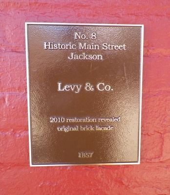Levy & Co. Marker image. Click for full size.